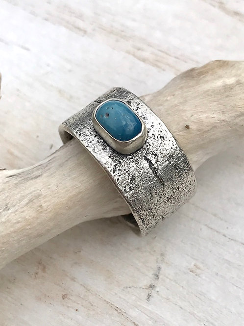 CLEARANCE Leland Blue Birch Bark Ring
