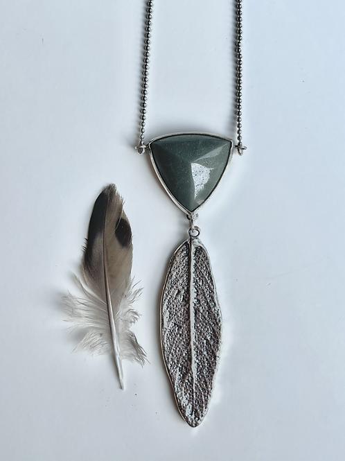 Sage Pyramid Necklace