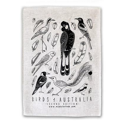 LINEN TEA TOWEL | BIRDS 2nd Ed.