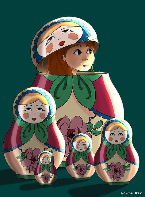 illustration digitalpainting enfants livre