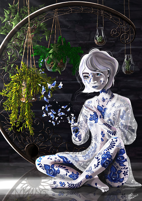 digitalpaiting, portrait, illustration