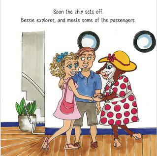 'Bessie Runs Away' childrens book