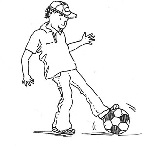Soccer pic (therapists sheets)