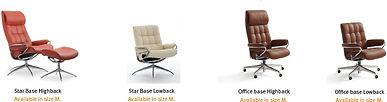 recliner-stressless-london-base-options