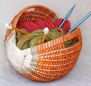 Irishing Knitting Basket Kit