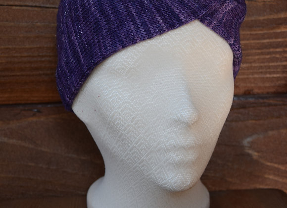 Twist Headband Sparkling Purple