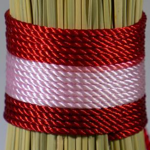 Variegated Pink Red