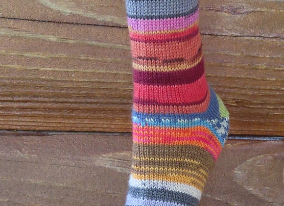Mixed Matched Scrappy sock