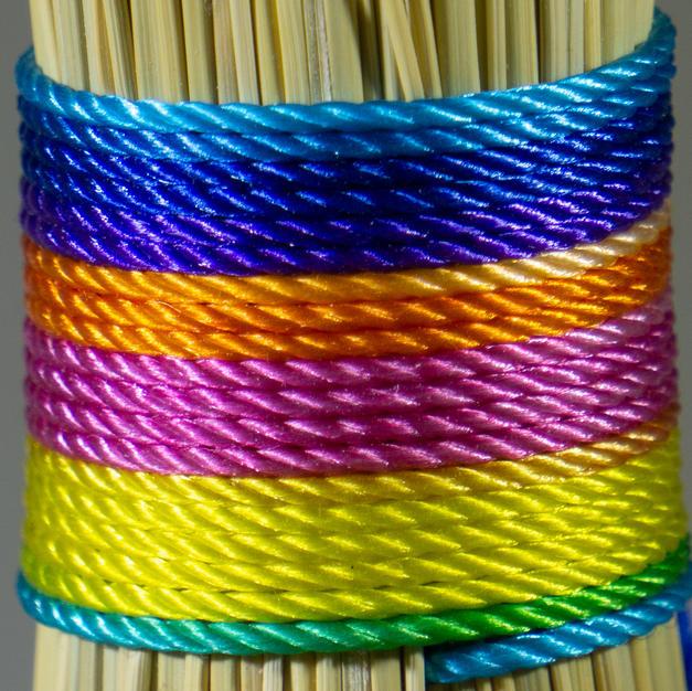 Variegated Pastel Rainbow