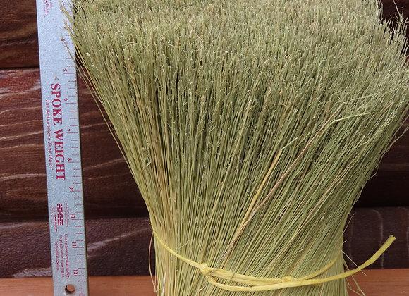 12 inch hurl broom corn