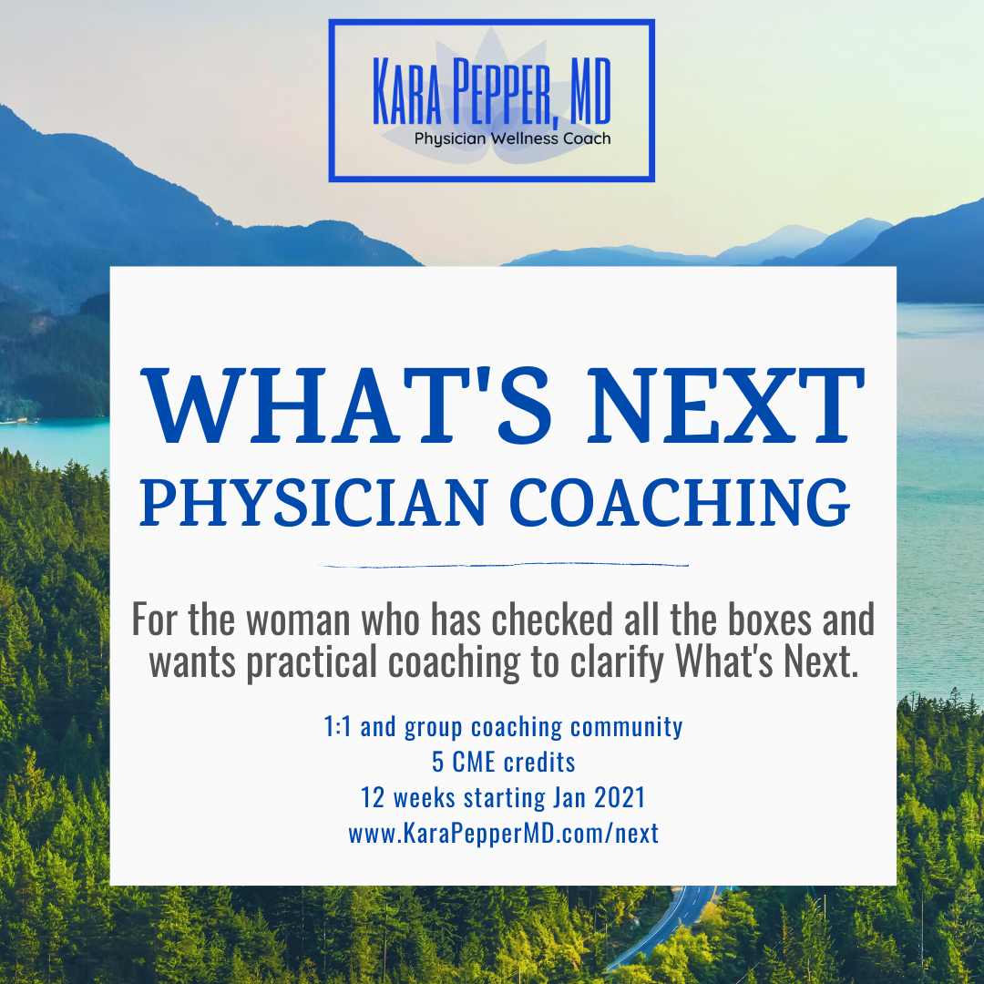 What's Next Physician Coaching