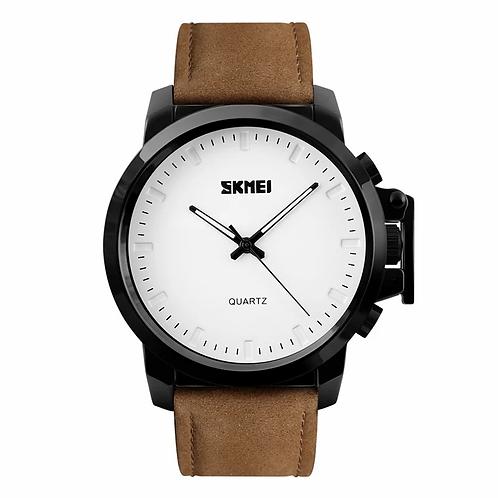 SKMEI Reloj 1208 – Cuero café