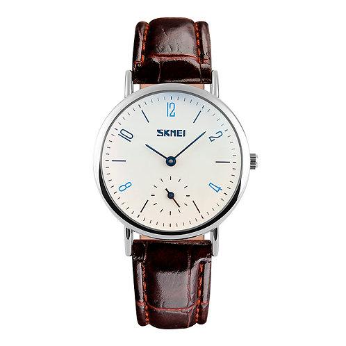 SKMEI Reloj 9120 – Plata Marrón