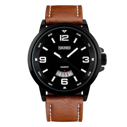 SKMEI Reloj 9115 – Negro Marrón