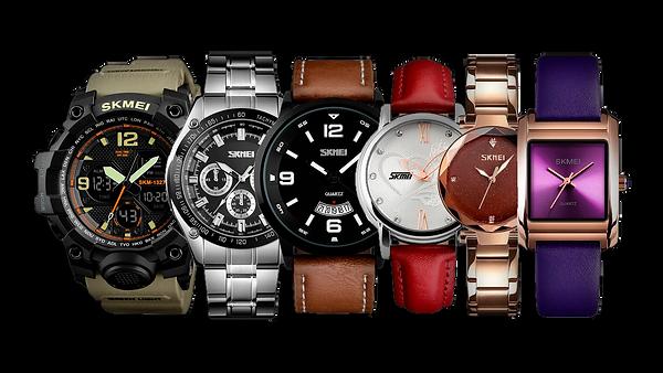Todos nuestros relojes para hombres y mujeres