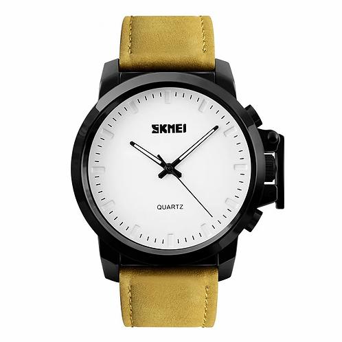 SKMEI Reloj 1208 – Cuero amarillo