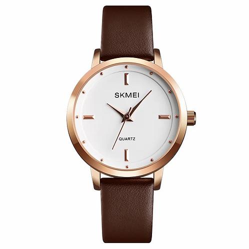 SKMEI Reloj 1457 – Marrón/Verde/Rojo
