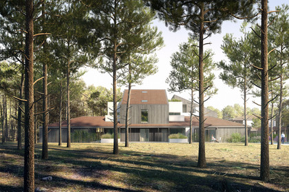 28 UNITS COMPLEX AND SPA IN LACANAU, FRANCE