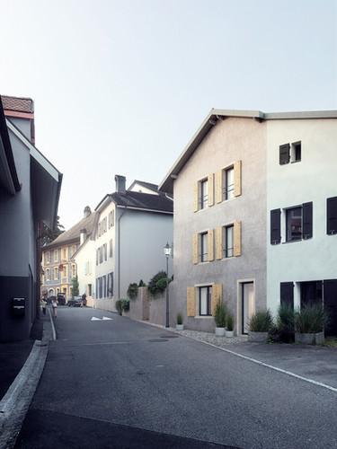HOUSE IN BOURG, SWITZERLAND