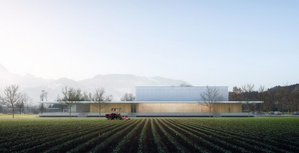 SPORT CENTER IN BROC, SWITZERLAND