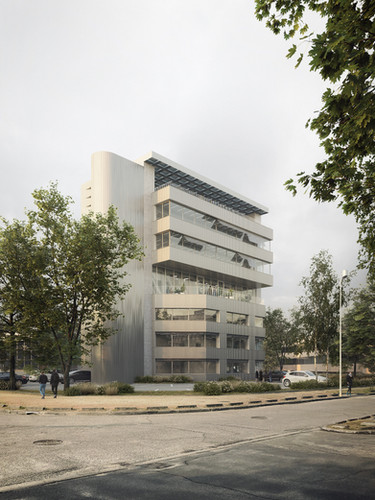 REFURBISHMENT OF AN OFFICE BUILDING IN BRUGES, FRANCE
