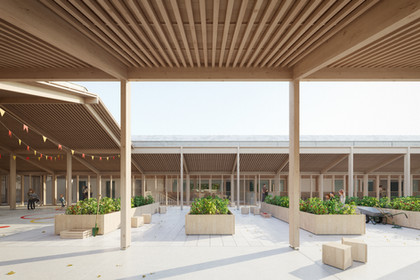 REFURBISHMENT AND EXTENSION OF A PRIMARY SCHOOL IN BAYONNE, FRANCE