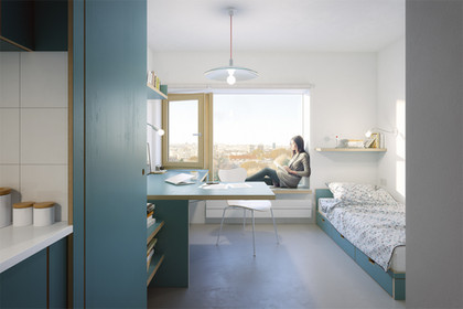 STUDENT HOUSING FOR THE CIUP, FRANCE