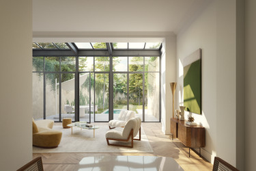 REFURBISHMENT AND EXTENSION OF A SINGLE FAMILY HOUSE