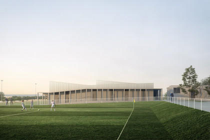 SPORT FACILITY IN NOISY-LE-ROI, FRANCE