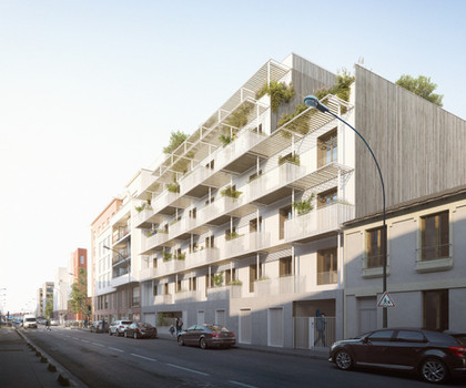APARTMENT COMPLEX IN SAINT-DENIS, FRANCE