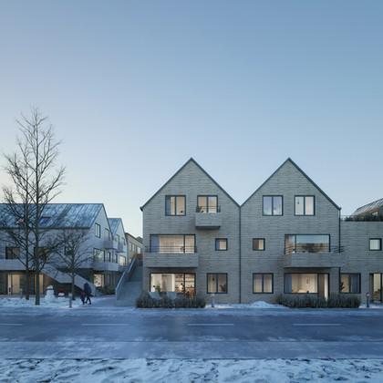 VAXTARHÚS, HOUSING COMPLEX IN ICELAND