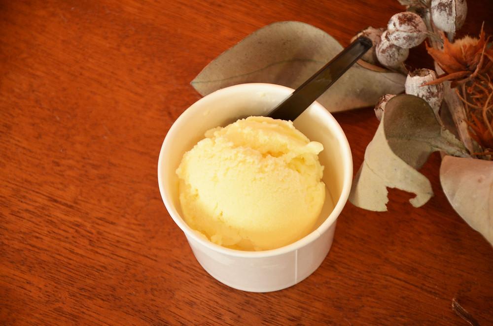 南城市のミルクで作ったEMアイスクリーム
