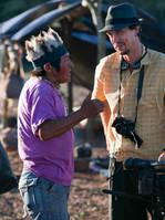 Marco Keller bei den Dreharbeiten