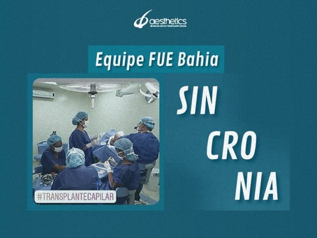 Sincronia no Transplante Capilar!