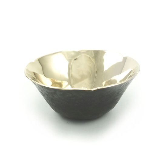 Flower Edge Bronze Bowl