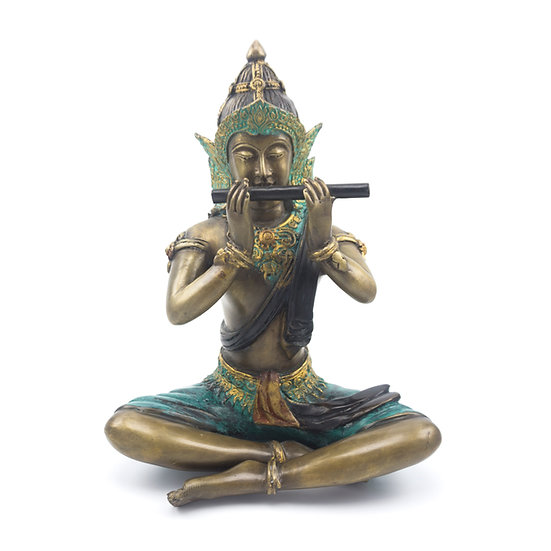Phra Apai Mani with side flute