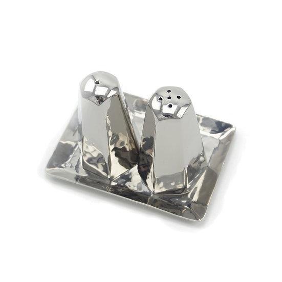 Hexagonal Salt & Pepper Set