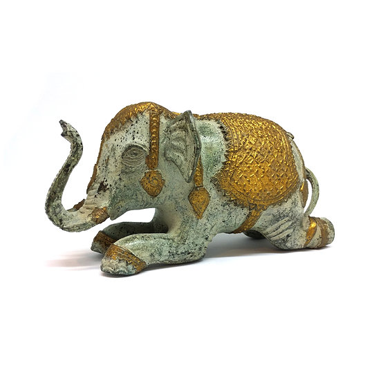 Royal Golden Patina Elephant