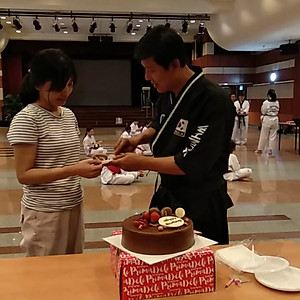 Sahbum Piter's Bday & Belt Ceremony