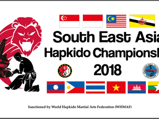 2018 SOUTHEAST ASIA HAPKIDO CHAMPIONSHIP!!!