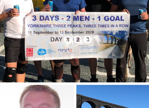 3 days 2 men 1 goal charity challenge