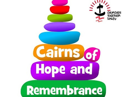 Ilkley's cairns of remembrance and hope