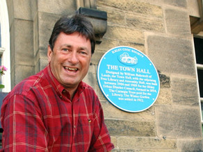 Take a stroll along Ilkley's blue plaque trail