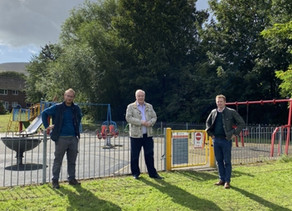 Call for Backstone Way playground investment