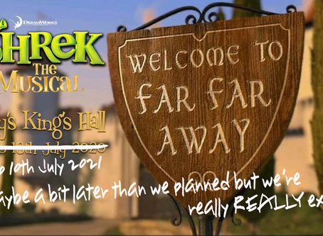 Shrek The Musical moved to 2021