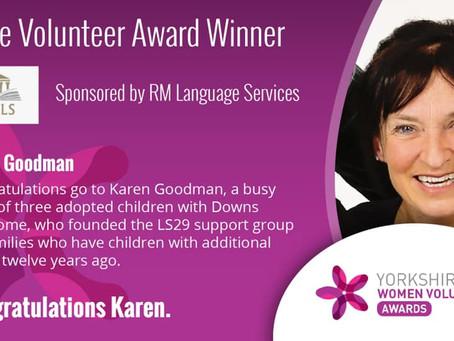 LS29 group founder wins Care Volunteer Award