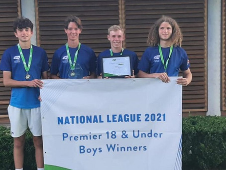 Ilkley U18 crowned National Champs