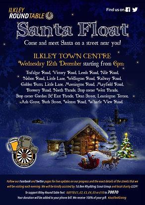 Santa Ilkley Town Centre