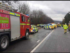 Serious accident closes Addingham bypass
