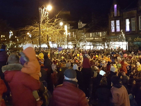 Ilkley's Christmas lights switch on moving online due to Covid-19